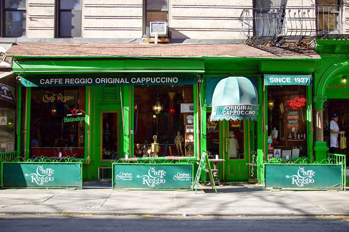 Νέα Υόρκη & Σαν Φραντσίσκο-Cafe Regio & Vesuvio