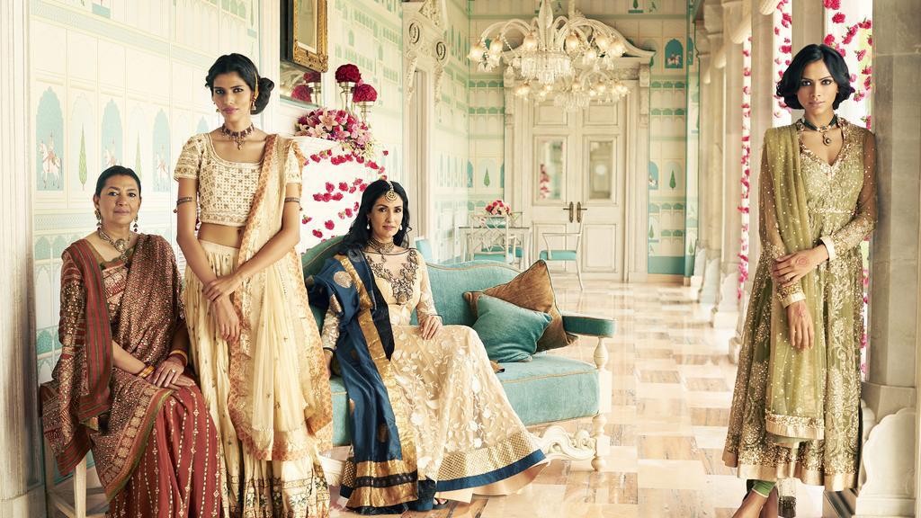 Ritu Kumar η Μόδα για Ινδικά παλάτια