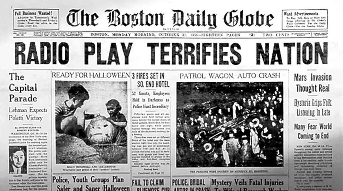30 Οκτωβρίου 1938: Οι Εξωγήινοι στην Νέα Υόρκη