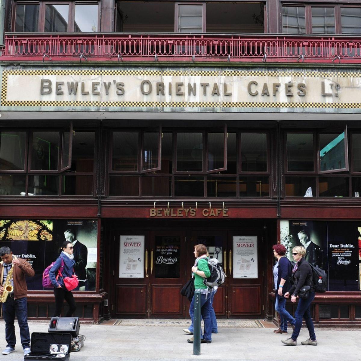 Δουβλίνο-Bewley's on Grafton Street