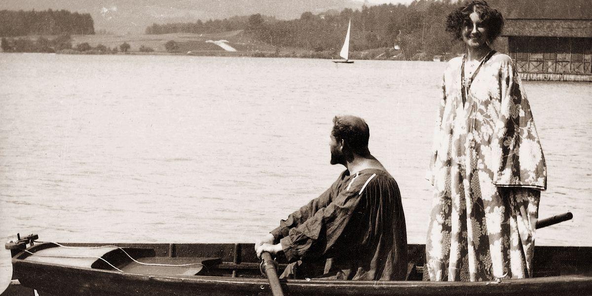 Emilie Floge-Gustav Klimt