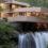 Falling-water house του Frank Lloyd Wright
